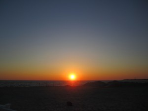 Cape May sunset/by Janice Wilson/Copyright 2011