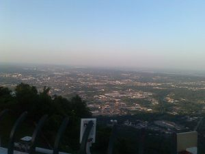 Alabama Chattanooga sunset hill view