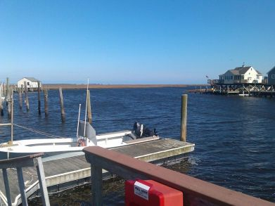 Stockton Marine Research Center dock