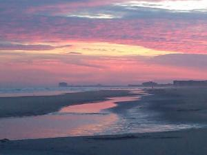 pink sky at night Margate