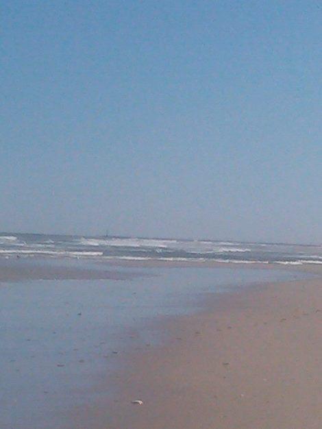 IBSP breezy atlantic ocean facing south near barnegat inlet